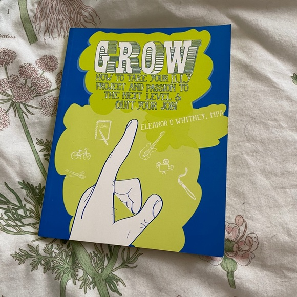 Urban Outfitters Office Grow A Diy Growth Book By